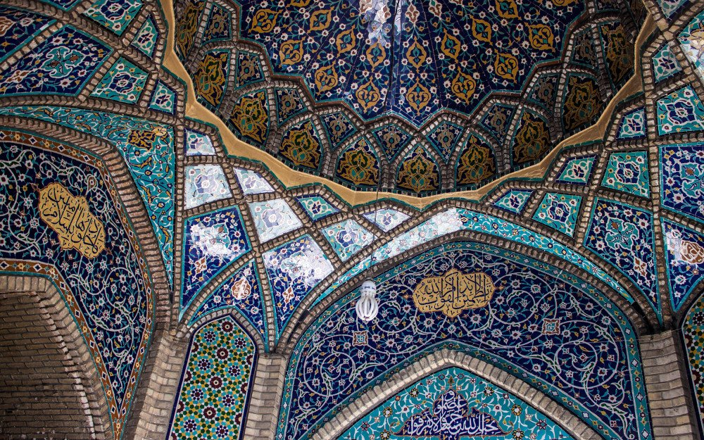 Prismatic Dreams: A Map of the Colours of Iran