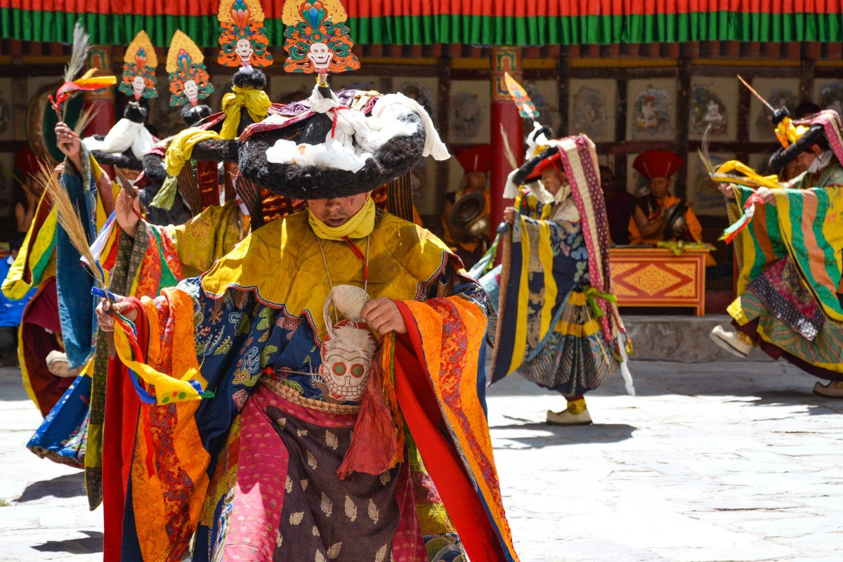 Hemis Festival (The Masked Dance of Ladakh)