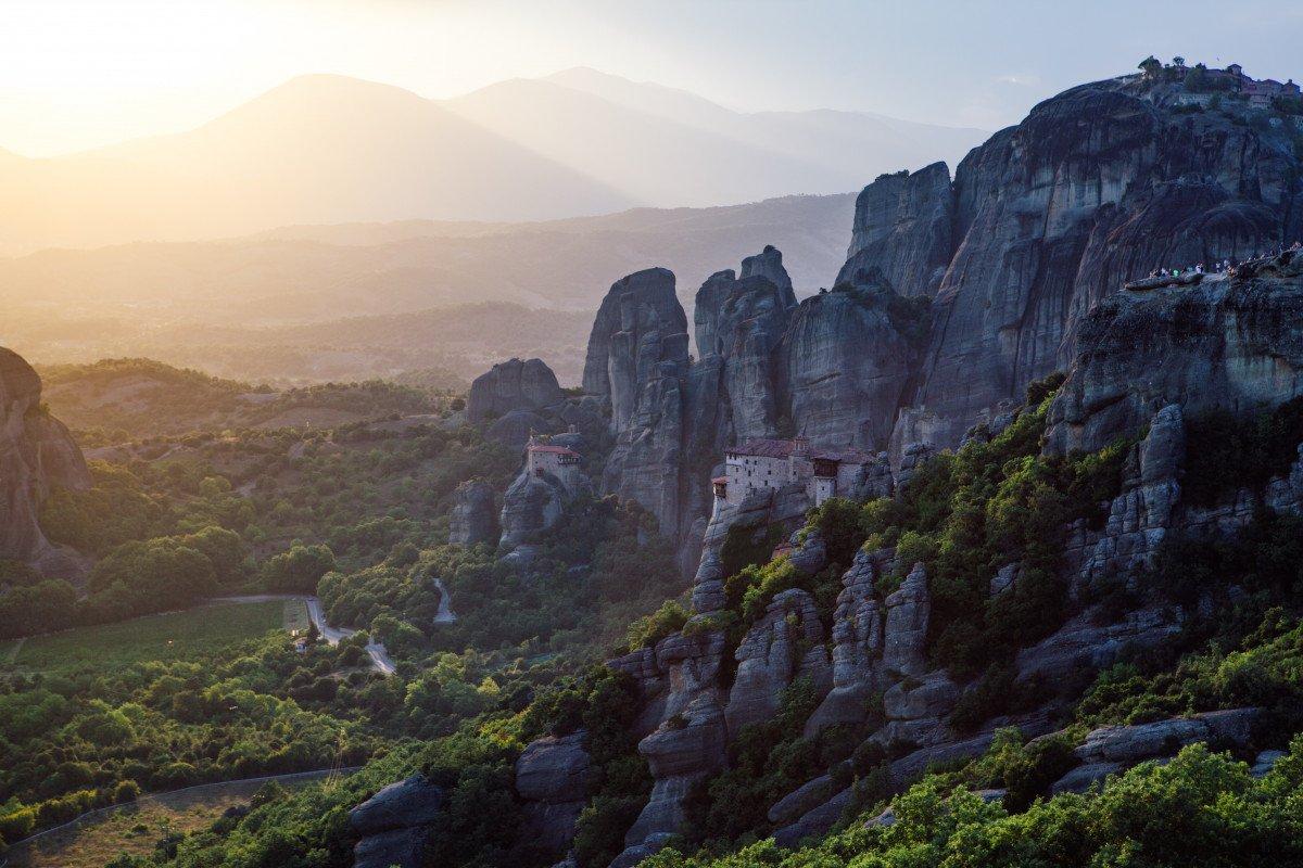 Pillars of Meteora