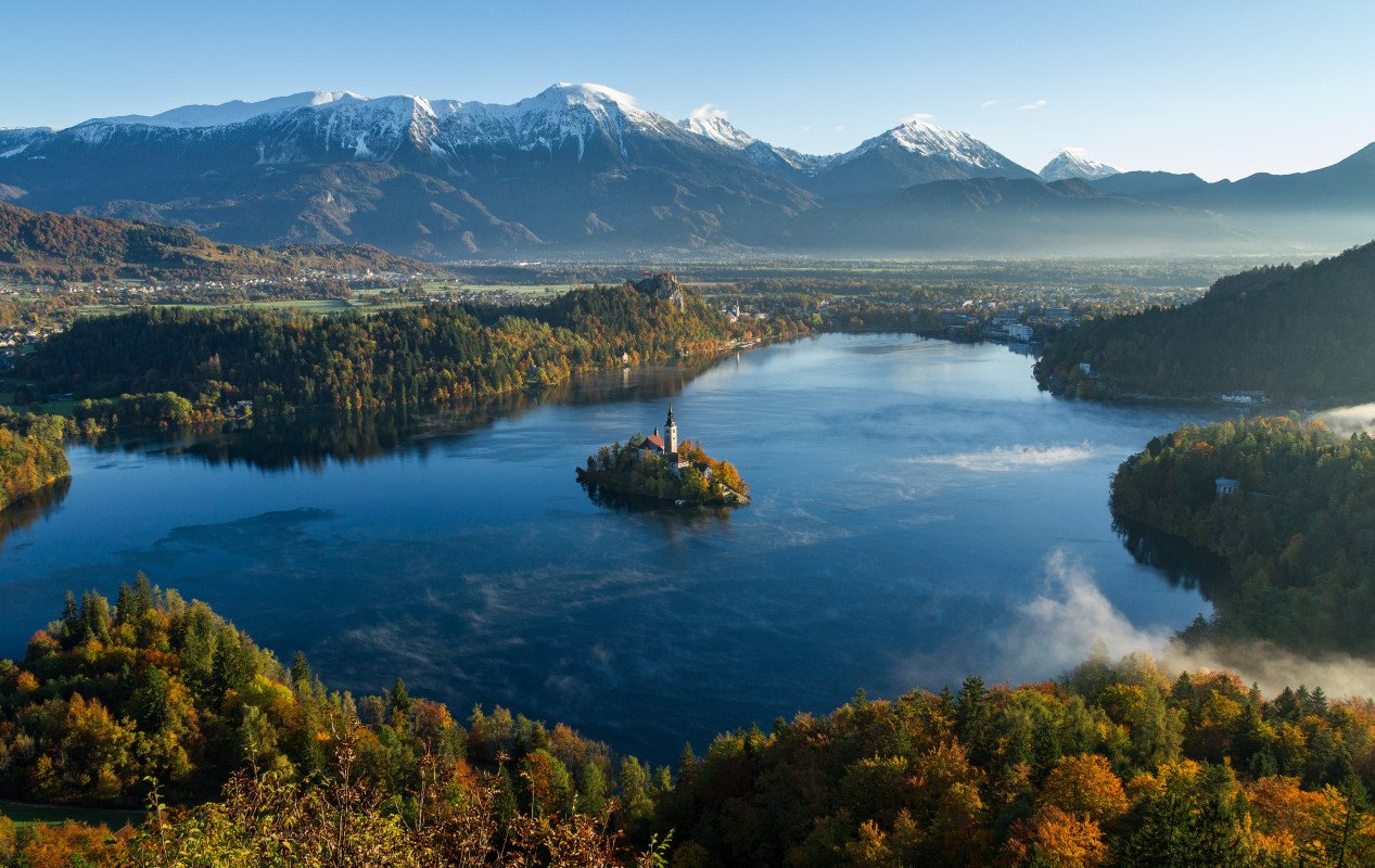 The Church on the Island - Bled, Slovenia