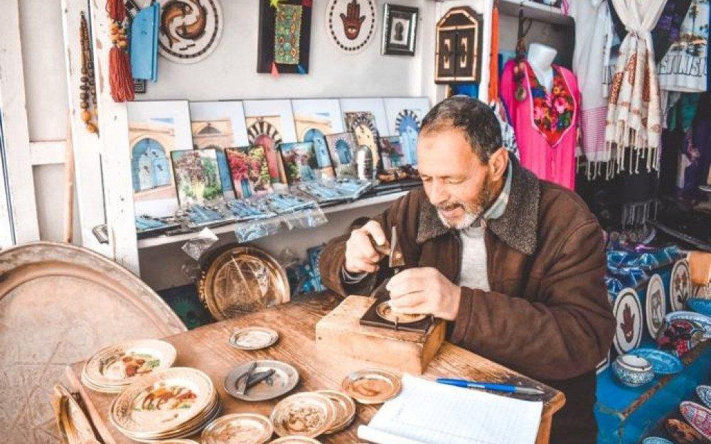 A Tunisian Shopping Centre: The Souks